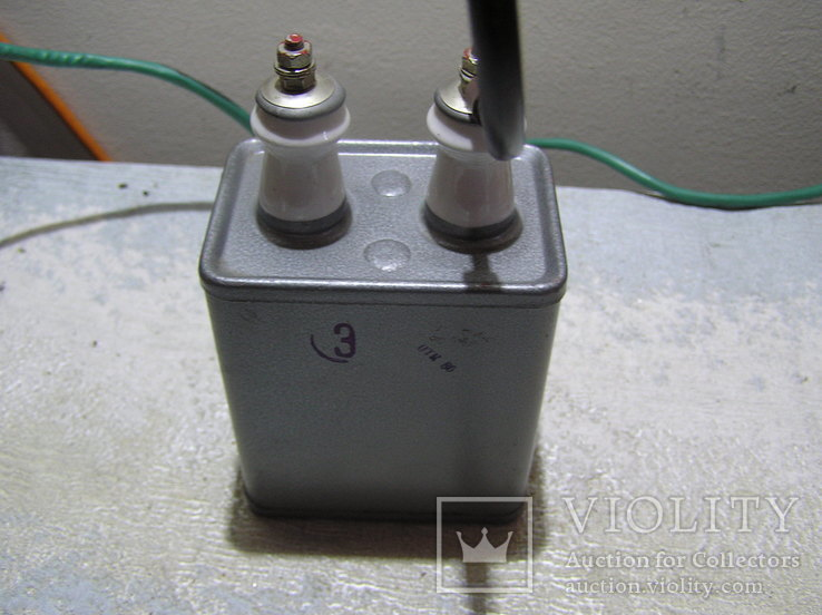 Высоковольтный конденсатор., фото №6