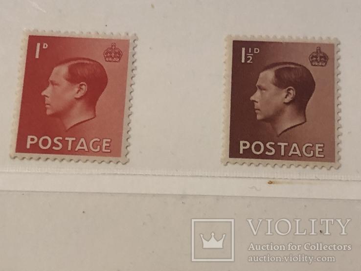 Британия . 1936 год. Серия., фото №4