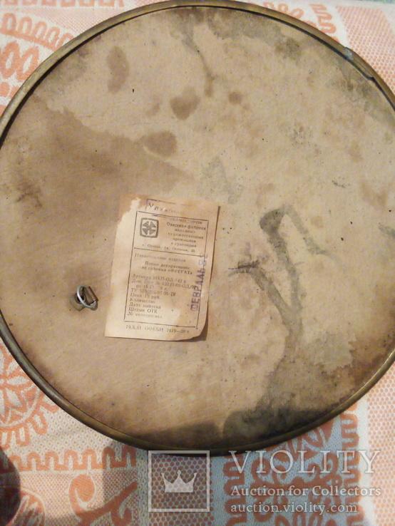 Панно декоративное из соломки '' фрегат, фото №4