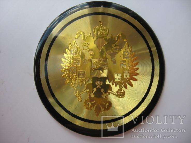 Накладка орел царизм,декоративная, фото №2