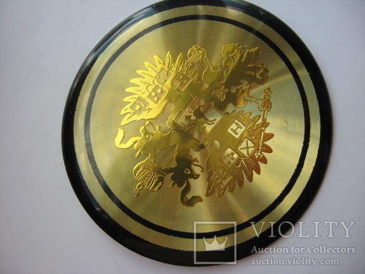 Накладка орел царизм,декоративная, фото №4