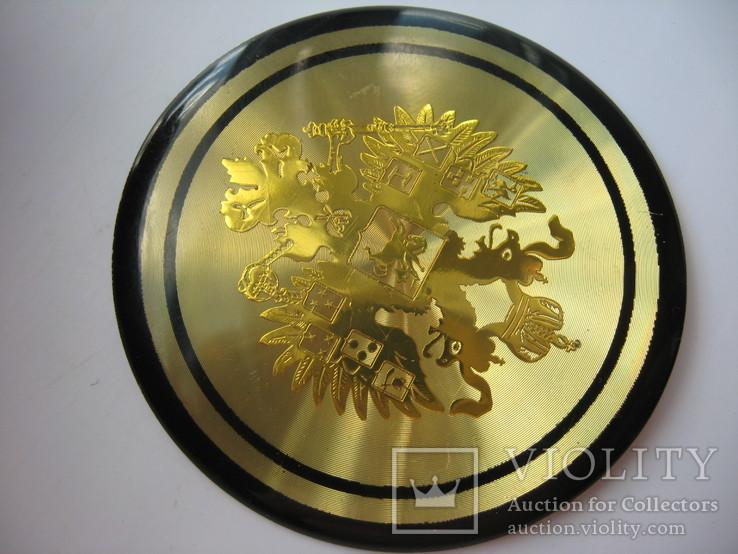 Накладка орел царизм,декоративная, фото №5