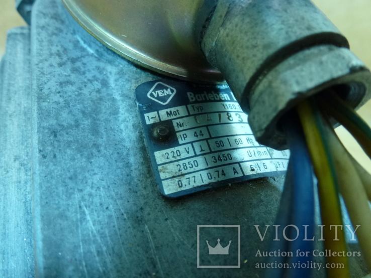 Электродвигатель VEM Германия  станок, фото №4