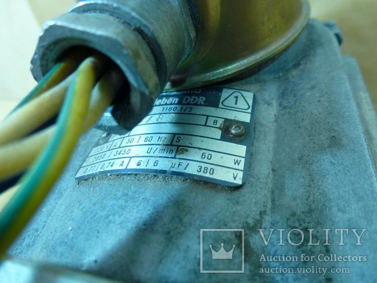 Электродвигатель VEM Германия  станок, фото №5