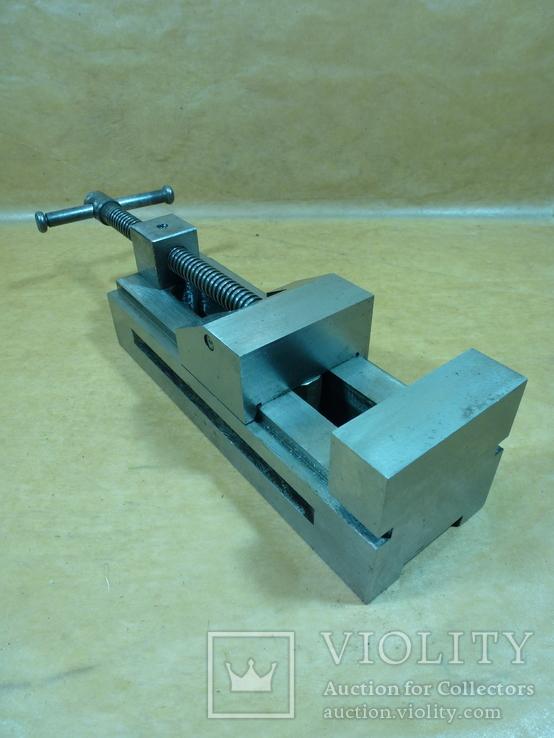 Тиски лекальные 60 мм. станок фрезерный шлифовальный инструмент, фото №2