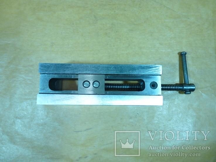 Тиски лекальные 60 мм. станок фрезерный шлифовальный инструмент, фото №5