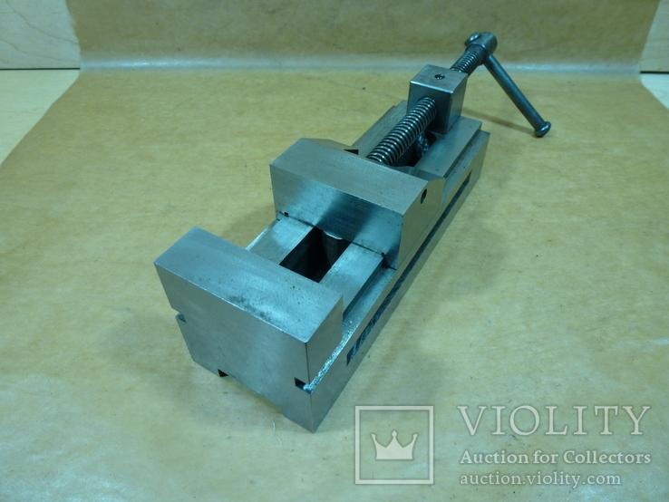 Тиски лекальные 60 мм. станок фрезерный шлифовальный инструмент, фото №7
