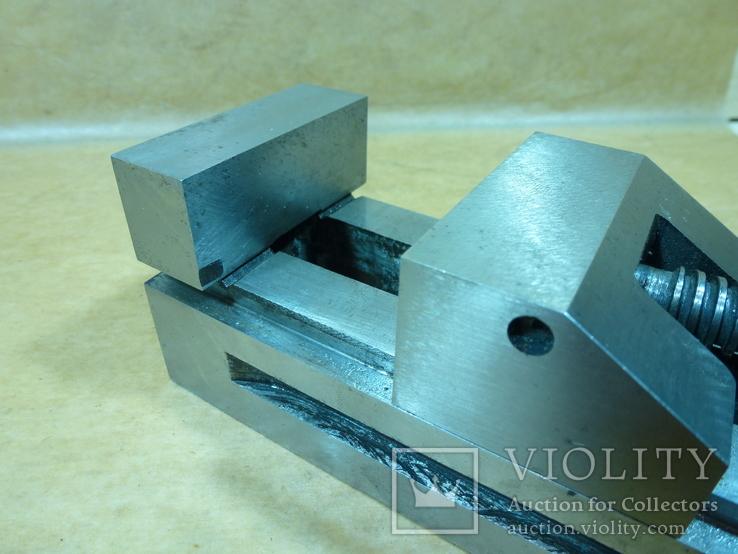 Тиски лекальные 60 мм. станок фрезерный шлифовальный инструмент, фото №9
