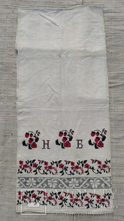 Рушник полотняный г.и. н.б., фото №3