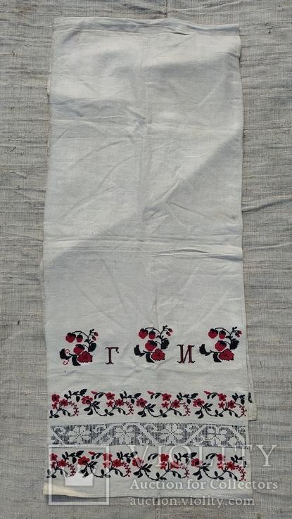 Рушник полотняный г.и. н.б., фото №2