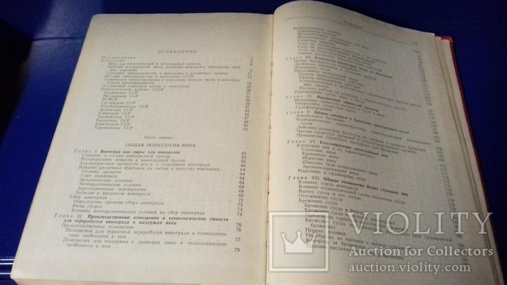 Технология вина. Герасимов. 1964г., фото №5