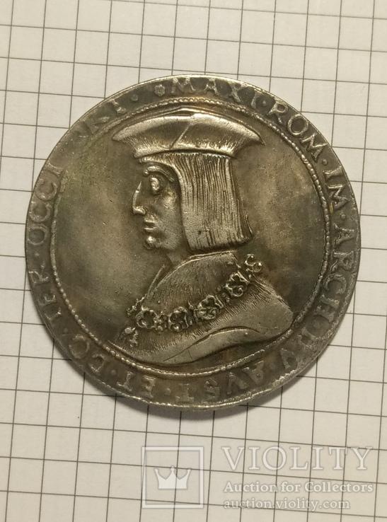 1 гульден 1518 год копия 576, фото №2