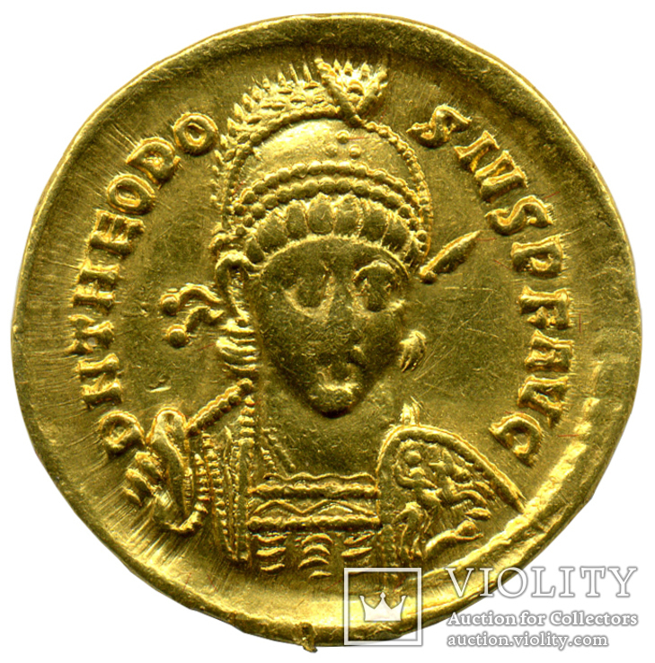Солид 402-450гг. Феодосий II