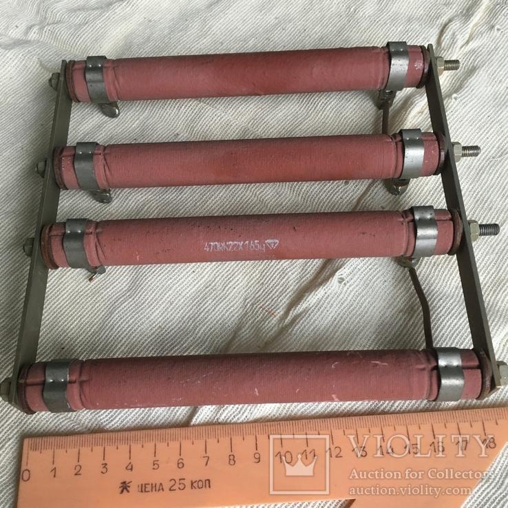 Батарея резисторов большой мощности, фото №2