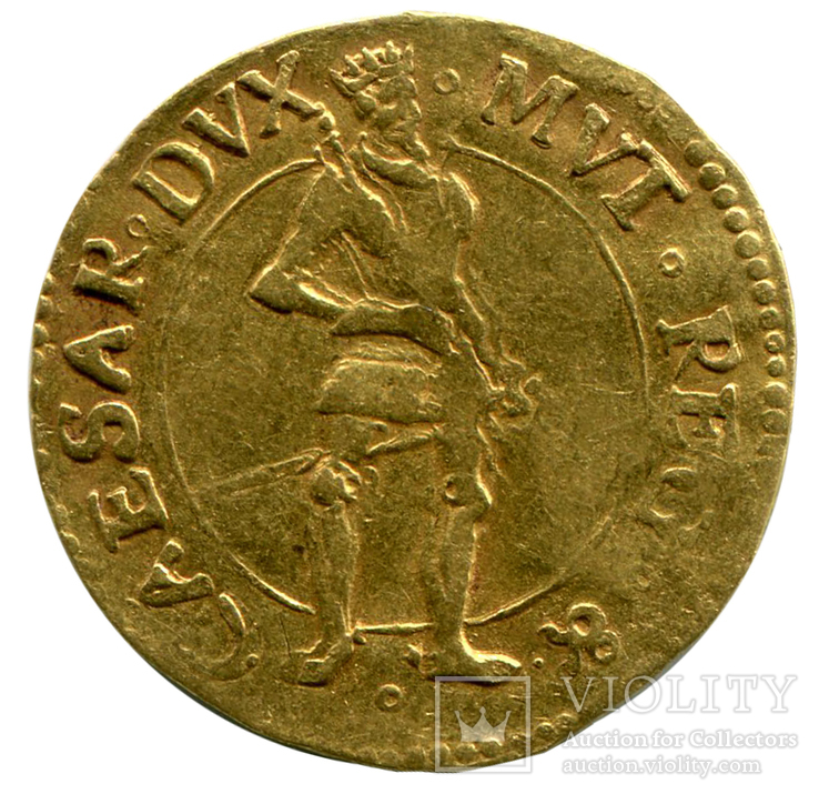 Дукат 1598г. Модена