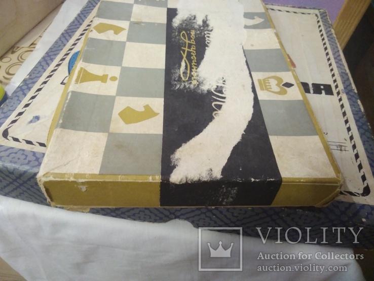 Шахматы и шахматная доска, фото №4