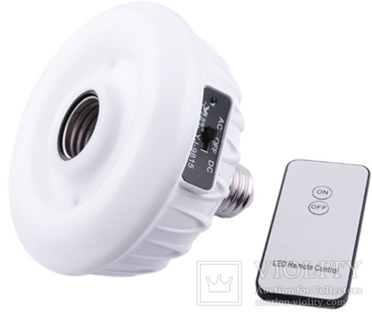 Светодиодная лампа с аккумулятором,20 LED, пульт д / у, фото №2