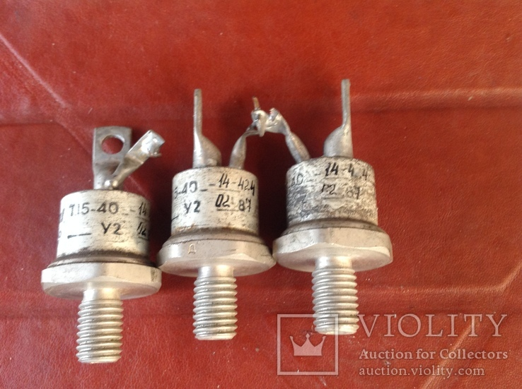 Тиристоры Т15 - 40, фото №2