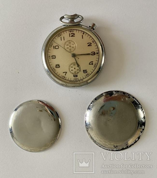 Хронограф слава капитан нерабочие некомплектные часы
