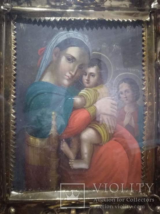 Большая старинная икона, фото №3