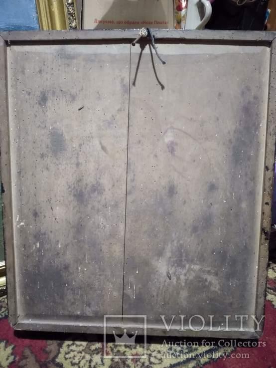 Большая старинная икона, фото №4