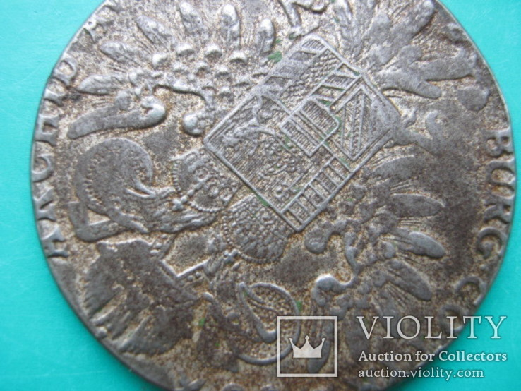 Металевий фальшак або копія Таллєра(Маріі Терези 1780 р), фото №9