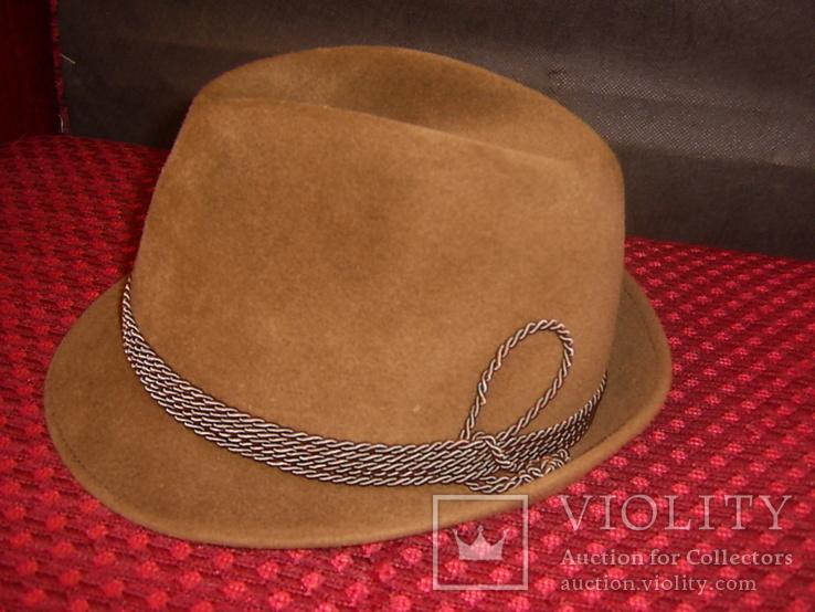 Шляпа мужская Австрия р.56, фото №2