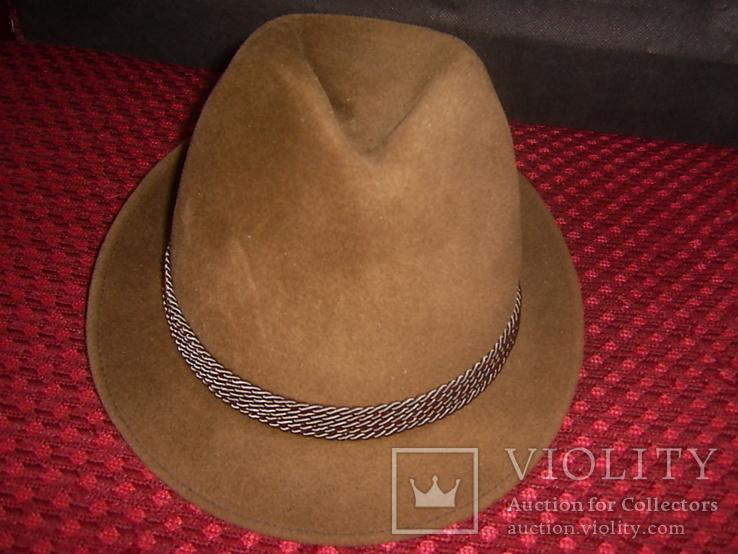 Шляпа мужская Австрия р.56, фото №3