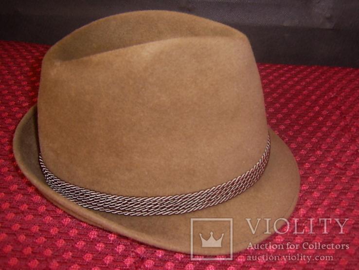 Шляпа мужская Австрия р.56, фото №4