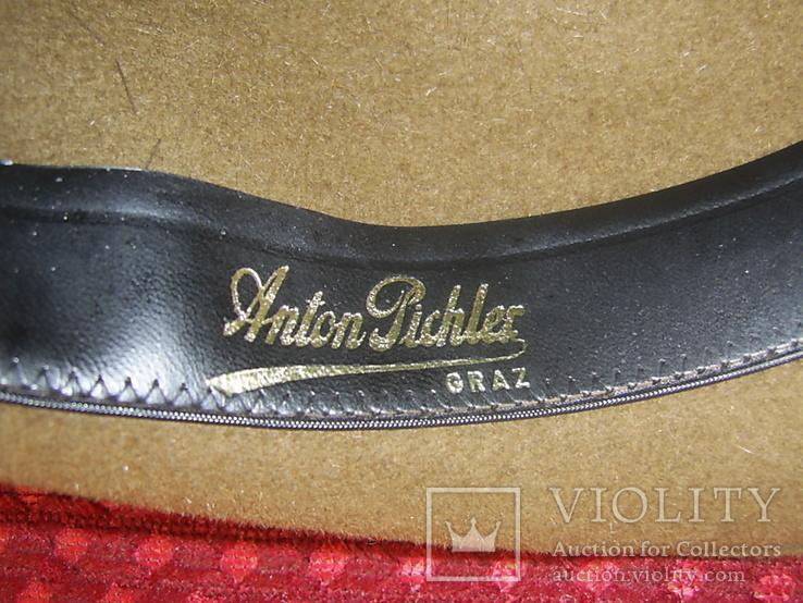 Шляпа мужская Австрия р.56, фото №7