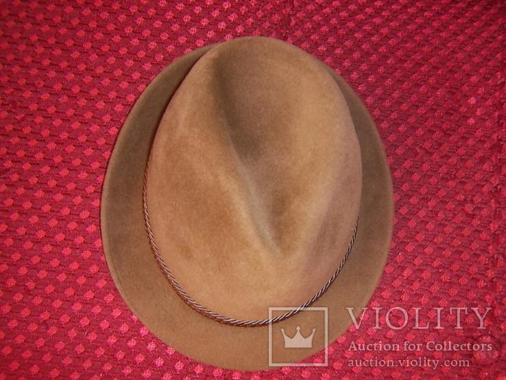 Шляпа мужская Австрия р.56, фото №9