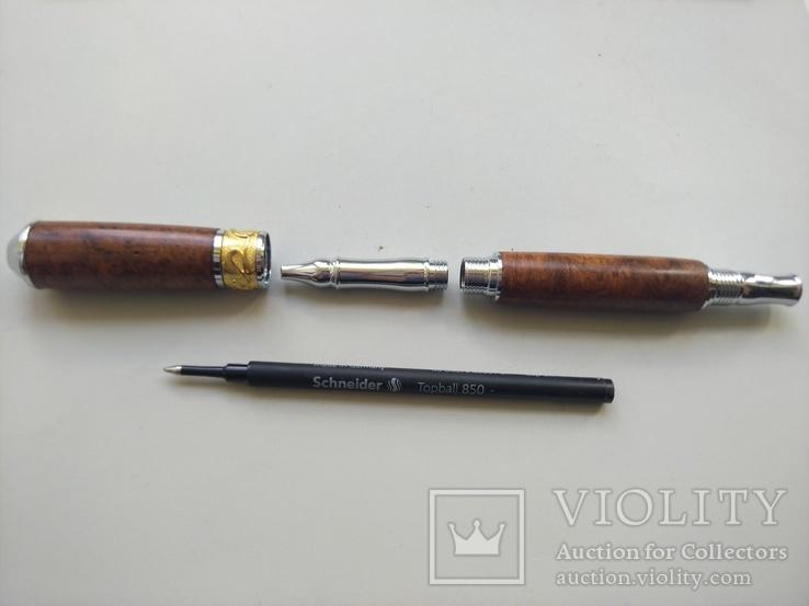 Ручка роллер ручной работы Ар Нуво, фото №7