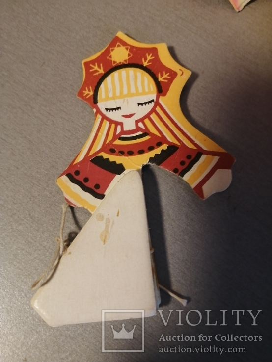 Гирлянда и игрушка карнавальная СССР, фото №7