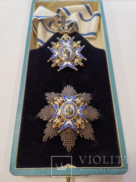 Орден Святого Сави второй степени