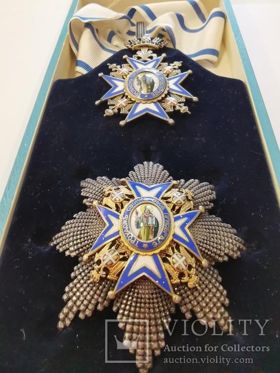 Орден Святого Сави второй степени, фото №3