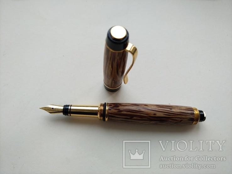 Ручка перьевая ручной работы Пальмовая, фото №5