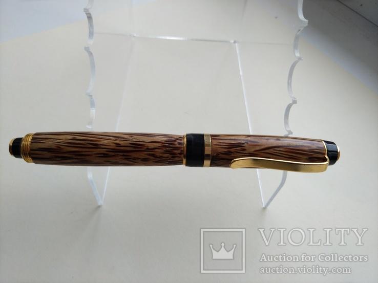 Ручка перьевая ручной работы Пальмовая, фото №2