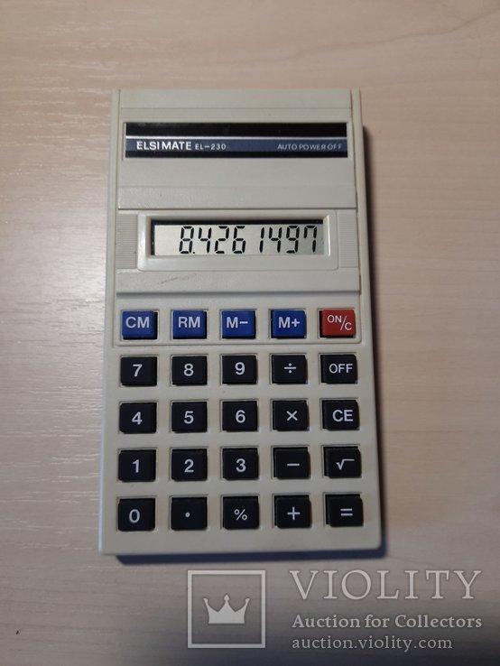 Калькулятор ELSI MATE EL - 230, фото №2