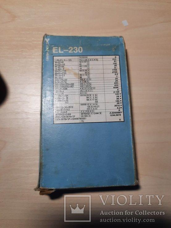 Калькулятор ELSI MATE EL - 230, фото №6