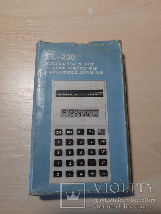 Калькулятор ELSI MATE EL - 230, фото №7