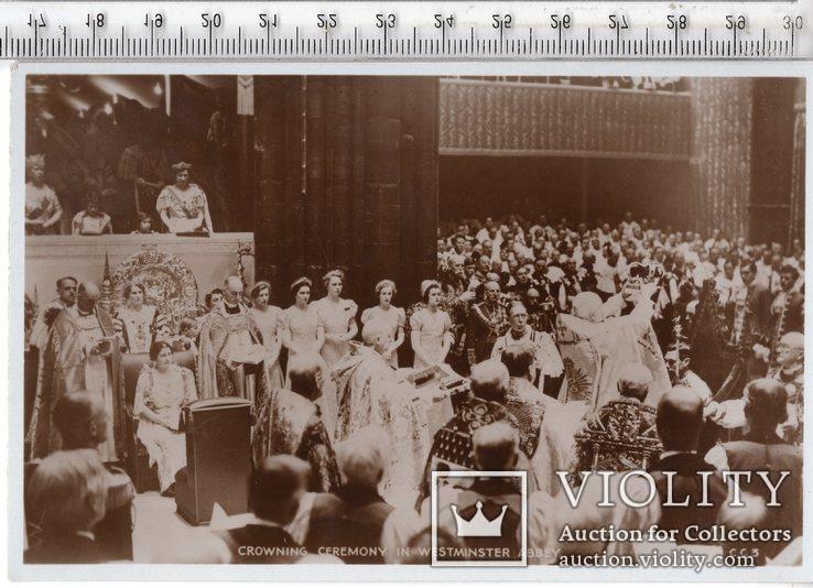 Открытка. Королевство Великобритания. Члены королевских семей.(3)., фото №2