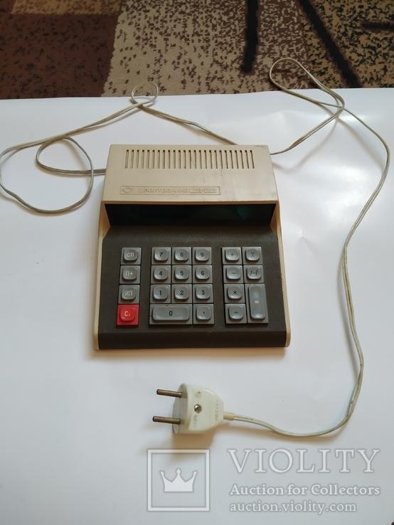 Счётная машинка - калькулятор Электроника С3 22 Полностью рабочая., фото №5