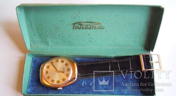 Золотые часы Ракета 583, фото №2