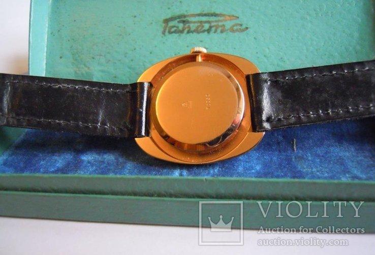 Золотые часы Ракета 583, фото №6