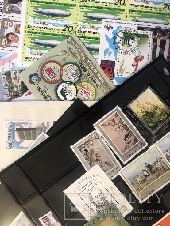 Корея. 24 блока и 88 марок., фото №2