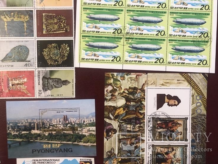 Корея. 24 блока и 88 марок., фото №4