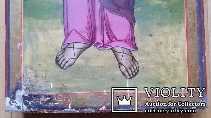 Ікона Св. Апостол Фома, 71,5х34,5 см, фото №6