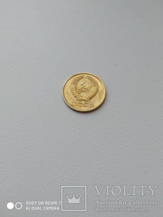 1 копейка 1980 года 2. Л.ст.шт. 4 - внутренние колосья, с длинными, тонкими остями, фото №8