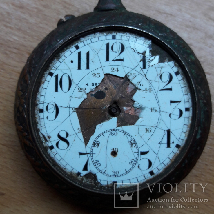 Карманные часы , корпус, на запчасти , под ремонт, фото №5