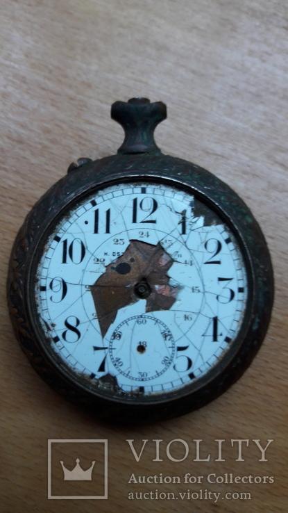 Карманные часы , корпус, на запчасти , под ремонт, фото №6